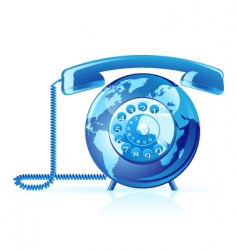 global communication icon vector image