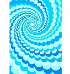 abstract background water twirl vector image vector image