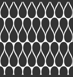 abstract seamless pattern drops vector image
