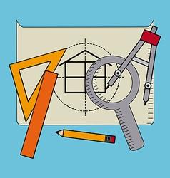 Construction concept vector