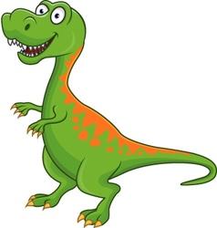 dinosaur cartoon vector image