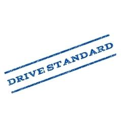 Drive Standard Watermark Stamp vector image