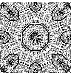 indian seamless floral pattern vector image