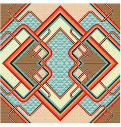 retro stile abstract background vector image