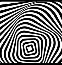 Swirling spiraling monochrome geometric element vector