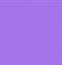 wall seamless background - brick texture violet vector image