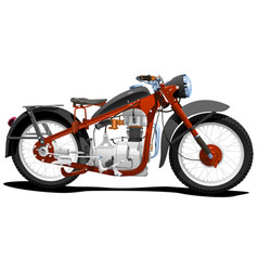 motocycle vector image vector image
