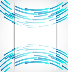 technology circles vector image
