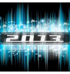 High Tech New Year 2013 vector image vector image