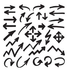 Marker Arrows Symbols vector image