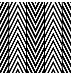Abstract Black and White Herringbone Seamless Pa vector image