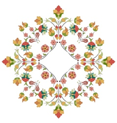 Artistic ottoman pattern series thirty one vector