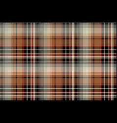 brown pixel check seamless pattern vector image