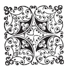 Doodad composed random and abstract design vector