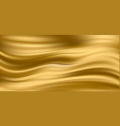 Gold silk satin fabric background eps10 vector