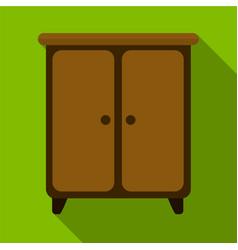 Wargrobe flat icon vector
