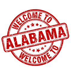 Welcome to alabama vector