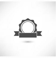 badge flat vector image