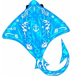 cramp fish vector image vector image