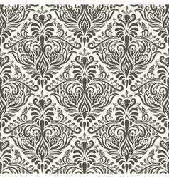 seamless filigree vintage pattern vector image vector image