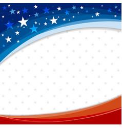 america or usa banner background design vector image