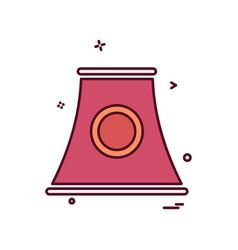 chimney icon design vector image