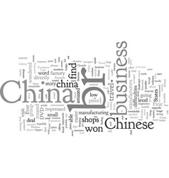 China business travel vector