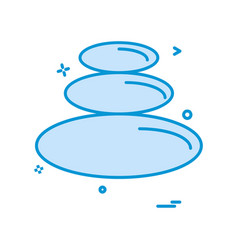 circle shapes icon design vector image