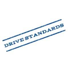 Drive Standards Watermark Stamp vector