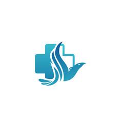 Medical icon design template vector