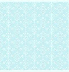 seamless ornamental wallpaper vector image