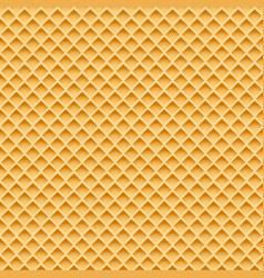 wafer seamless pattern vector image