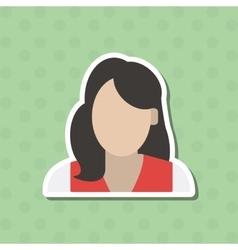 Woman icon design vector