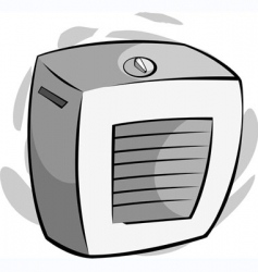 cooler vector image vector image