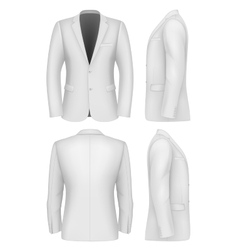 Formal Business Suits Jacket for Men vector image