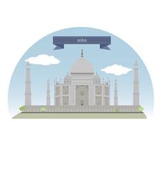 Agra vector image