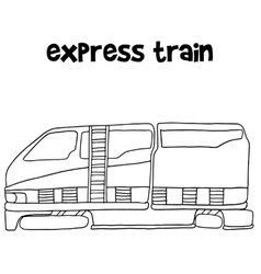 Express train of vector