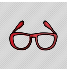 Hipster element design vector