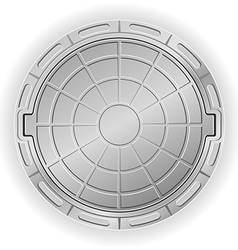 manhole 01 vector image vector image
