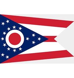Ohio Flag vector