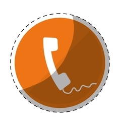 Phone service repair icon vector
