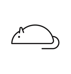 Rat icon vector