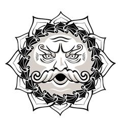 wind god vector image vector image