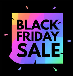 Black friday sale poster template super offer 3d vector