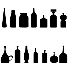 botles vector image