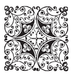 Doodad composed random and abstract lines vector