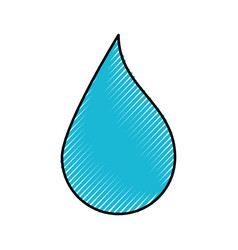 Drop paint picture vector