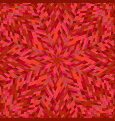 Dynamic abstract hypnotic radial tiled mosaic vector
