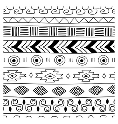 Ethnic seamless texture vector