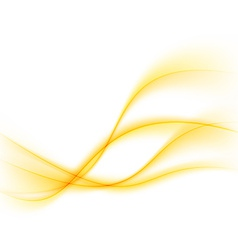 Modern abstract yellow glow lines background vector